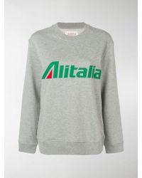 Alberta Ferretti - Felpa Alitalia - Lyst