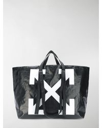 Off-White c/o Virgil Abloh - Commercial Arrow Logo Tote - Lyst