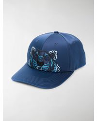 KENZO - Embroidered Tiger Cap - Lyst