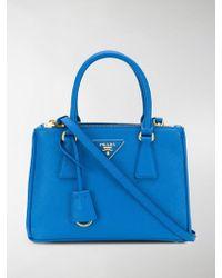 Prada - Galleria Tote Bag - Lyst