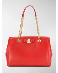Ferragamo | Melike Leather Tote | Lyst