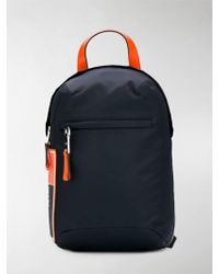 c741821ee11860 Prada Nylon One-shoulder Backpack in Black for Men - Lyst