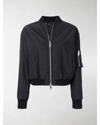 Versus - Embroidered Lion Bomber Jacket - Lyst