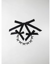 Simone Rocha - Beaded Bow-detail Necklace - Lyst