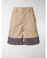 Marni - Shorts bi-color - Lyst