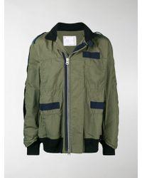 Sacai - Lightweight Long-sleeved Jacket - Lyst