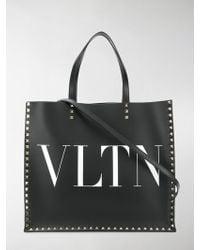 Valentino - Vltn Shopping Bag - Lyst