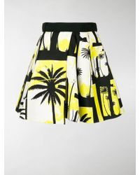 Fausto Puglisi - Flared Short Skirt - Lyst