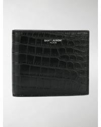 Saint Laurent - Classic Paris East/west Leather Wallet - Lyst