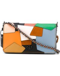 COACH - Dinky Patchwork Bag - Lyst