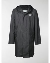 Off-White c/o Virgil Abloh - Printed Raincoat - Lyst