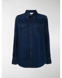 Calvin Klein Jeans - Denim Long-sleeve Shirt - Lyst