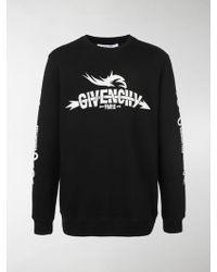 Givenchy - Felpa con logo - Lyst