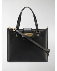 Etro - Embroidered Strap Tote Bag - Lyst