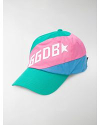 Golden Goose Deluxe Brand - Colour-block Hat - Lyst