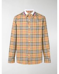 Burberry - Edward Check Shirt - Lyst