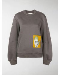 Chloé - Hand Patch Sweatshirt - Lyst