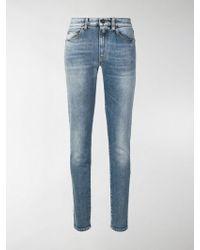 Saint Laurent - Denim Cotton Jeans - Lyst