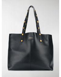 bae5342b35 Lyst - Bao Bao Issey Miyake Appliqué Detailed Oversized Tote Bag in ...