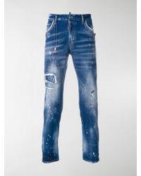 DSquared² | Jeans Effetto Invecchiato Skater | Lyst