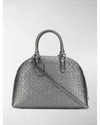COACH - Signature Logo Quinn Bag - Lyst