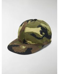 3e90859b55e Saint Laurent Green Camouflage Space Is My Home Cap in Green for Men ...