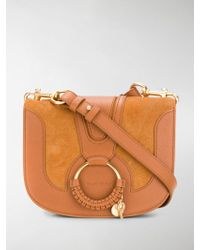 See By Chloé - Hana Medium Saddle Bag - Lyst