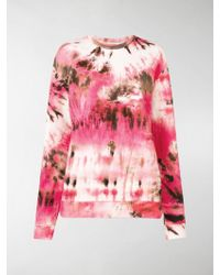 MSGM - Tie-dye Sweatshirt - Lyst