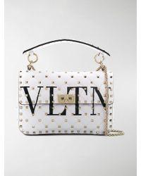 Valentino | Rockstud Spike Medium Chain Bag | Lyst