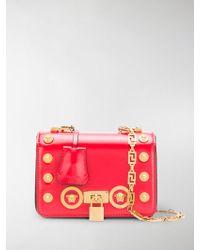 Versace - Studded Medusa Crossbody Bag - Lyst
