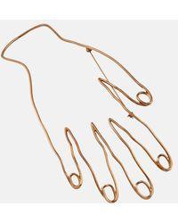 Stella McCartney - Hand Motif Brooch - Lyst