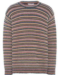 Stella McCartney - Multicolor Stripes Crew Neck Jumper - Lyst
