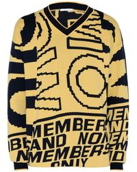 Stella McCartney - Yellow Members Print Jumper - Lyst