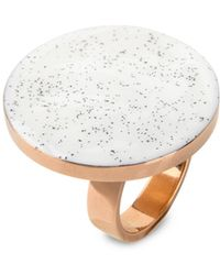 Stella McCartney   White Circular Ring   Lyst