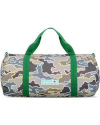 adidas By Stella McCartney - Khaki Camo Print Sports Bag - Lyst