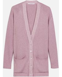 Stella McCartney - Cardigan con Scollo a V - Lyst