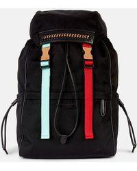 Stella McCartney - Black Falabella Go Mountain Backpack - Lyst