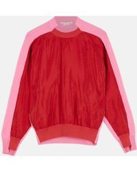 Stella McCartney - Nylon Blend Sweater - Lyst