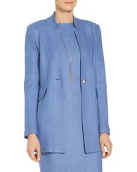 St. John - Sarga Knit Twill Jacket - Lyst