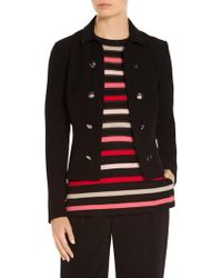 St. John - Sale Bella Double Weave Jacket - Lyst