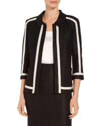St. John - Alla Knit Jacket - Lyst