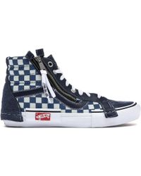 ab20913664 Lyst - Vans The Men s Era Low Top In Dress Blue Suede in Blue for Men