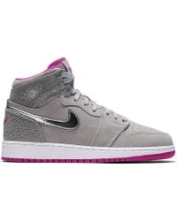72737f9c Nike Air Force 1 High '07 3 White/ Wolf Grey in White for Men - Lyst