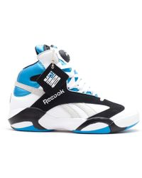 5abf7ffc9e3 Lyst - Reebok Shaq Attaq Fashion Sneaker in Purple for Men
