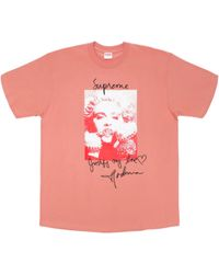 09c216f78 Supreme Madonna Tee in Blue for Men - Save 18% - Lyst