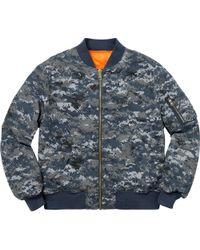 ec8941c0 Supreme Digi Coaches Jacket 'ss 17' in Blue for Men - Save 17% - Lyst