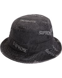 dca13538 Supreme Terry Crusher in Black for Men - Lyst