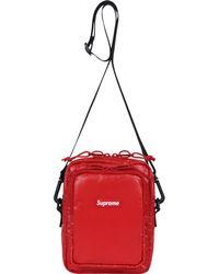 90b1dfe3052 Lyst - Supreme Shoulder Bag in Red