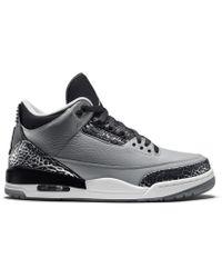 buy popular a7e74 aaf70 Nike - 3 Retro Wolf Grey - Lyst