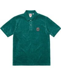 Supreme - Lacoste Velour Polo Teal - Lyst